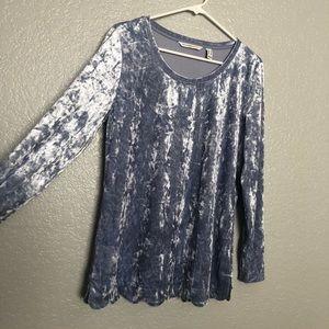 Velvet-Soft Isaac Mizrahi Long Sleeve 👚